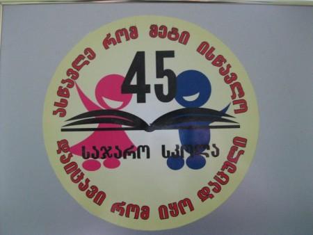 ქალაქ თბილისის №45 საჯარო სკოლა